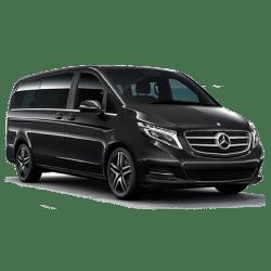 Transport dans le Val-d'oise avec chauffeur privé dans un Van Minibus